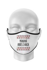 Baby body Mandra ardeleanca Alb