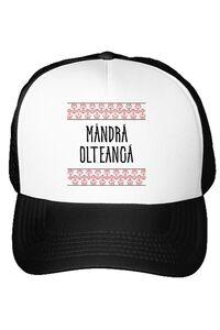 Tricou ADLER copil Mandra olteanca Alb