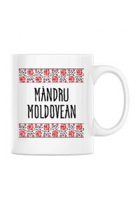 Baby body Mandru moldovean Alb