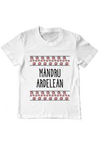 Tricou STANLEY STELLA barbat Mandru ardelean Alb
