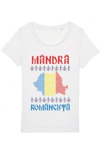 Mousepad personalizat Mandra romancuta Alb