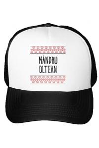 Cana personalizata Mandru oltean Alb