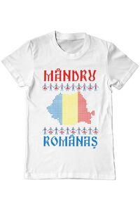 Tricou STANLEY STELLA barbat Mandru romanas Alb