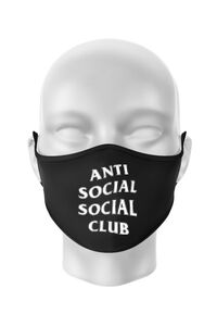 Hoodie barbat cu gluga Anti social Negru