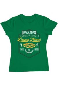 Tricou ADLER copil Drumul taberei Verde mediu
