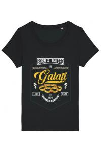 Tricou ADLER barbat Galati Negru
