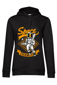 Tricou ADLER copil Space champion Negru