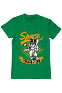 Tricou ADLER dama Space champion Verde mediu