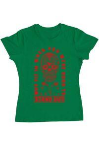 Tricou ADLER copil Born to stand out Verde mediu