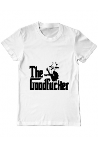 Tricou ADLER dama The goodfucker Alb
