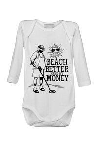 Cana personalizata Beach better have my money Alb
