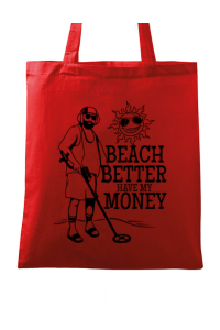 Tricou ADLER copil Beach better have my money Rosu