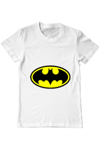 Cana personalizata Batman Alb