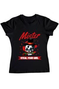 Tricou STANLEY STELLA barbat Mr. steal your girl Negru