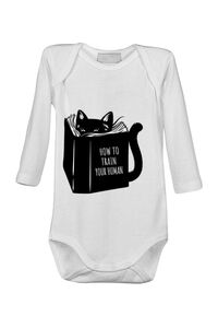 Tricou STANLEY STELLA dama How to train your human Alb