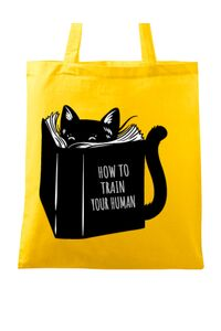 Tricou ADLER dama How to train your human Galben