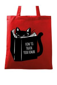 Tricou ADLER copil How to train your human Rosu