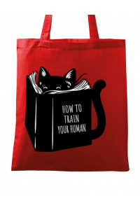 Tricou ADLER dama How to train your human Rosu