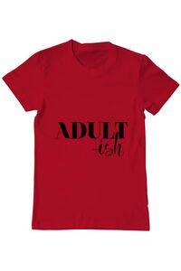 Tricou ADLER dama Adultish Rosu