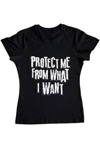 Masca personalizata reutilizabila Protect me Negru