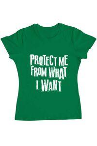 Tricou ADLER copil Protect me Verde mediu