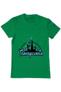 Tricou ADLER dama Transylvania Verde mediu