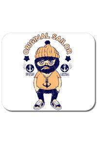 Perna personalizata Original sailor Alb