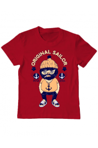Sacosa din panza Original sailor Rosu