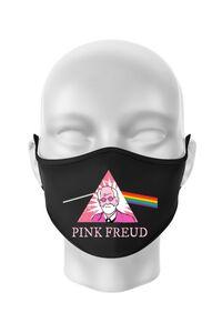 Hoodie barbat cu gluga Pink Freud Negru