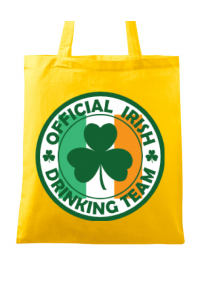 Tricou ADLER barbat Irish Drinking Team Galben