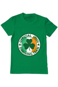 Tricou ADLER copil Irish Drinking Team Verde mediu
