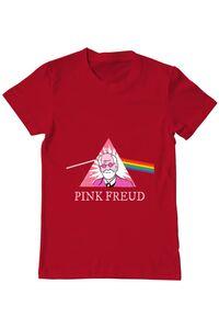 Tricou ADLER copil Pink Freud Rosu