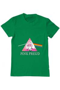 Tricou ADLER copil Pink Freud Verde mediu
