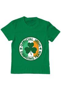 Tricou ADLER barbat Irish Drinking Team Verde mediu