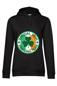 Tricou ADLER copil Irish Drinking Team Negru