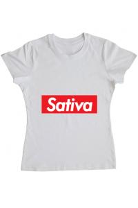 Tricou STANLEY STELLA barbat Sativa Alb