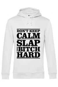 Mousepad personalizat Slap the bitch Alb
