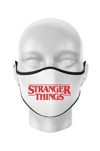 Perna personalizata Stranger things Alb