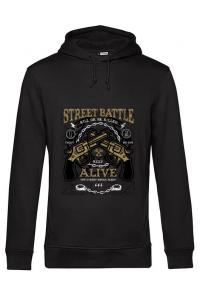 Hoodie dama cu gluga Street Battle Negru