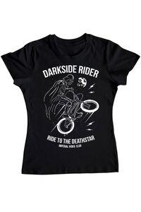 Hoodie barbat cu gluga Darkside rider Negru