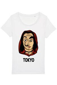 Tricou ADLER copil Tokyo Alb