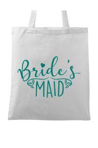 Mousepad personalizat Brides maid Alb
