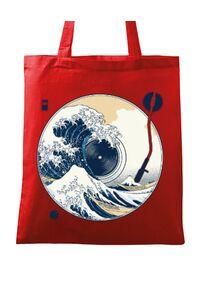 Tricou ADLER barbat The Great Wave off Sound Rosu