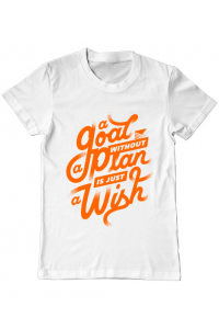 Cana personalizata A Goal Without a Plan is Just a Wish Alb