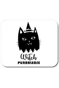 Sapca personalizata Witch Purrrlease Alb