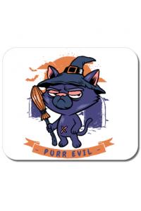 Tricou ADLER copil Purr halloween Alb