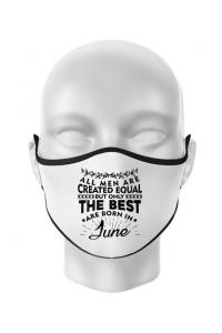 Tricou ADLER copil The best men are born in June Alb