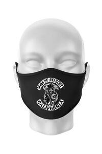 Hoodie barbat cu gluga Sons of anarchy Negru