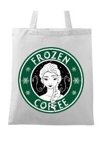 Tricou ADLER copil Frozen coffee Alb