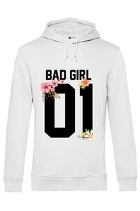 Sapca personalizata Bad girl Alb